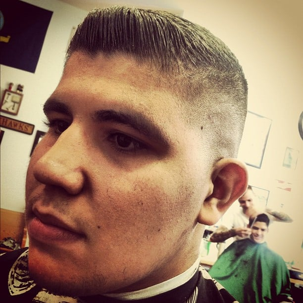 Old School Barber Shop Haircut additionally Barber Shop Haircut Styles ...